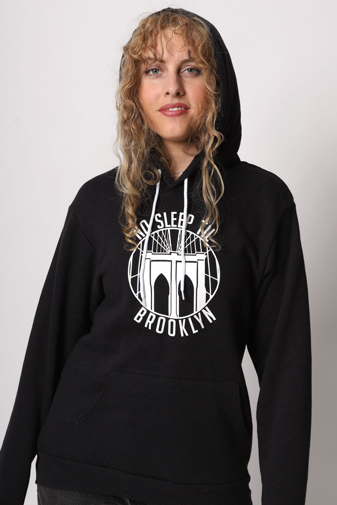 ROUND NO SLEEP HOODIE W - BROOKLYN INDUSTRIES