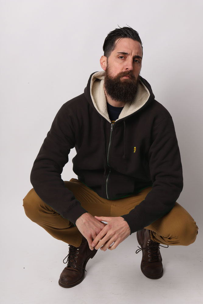 SHERPA LINED FLEECE M