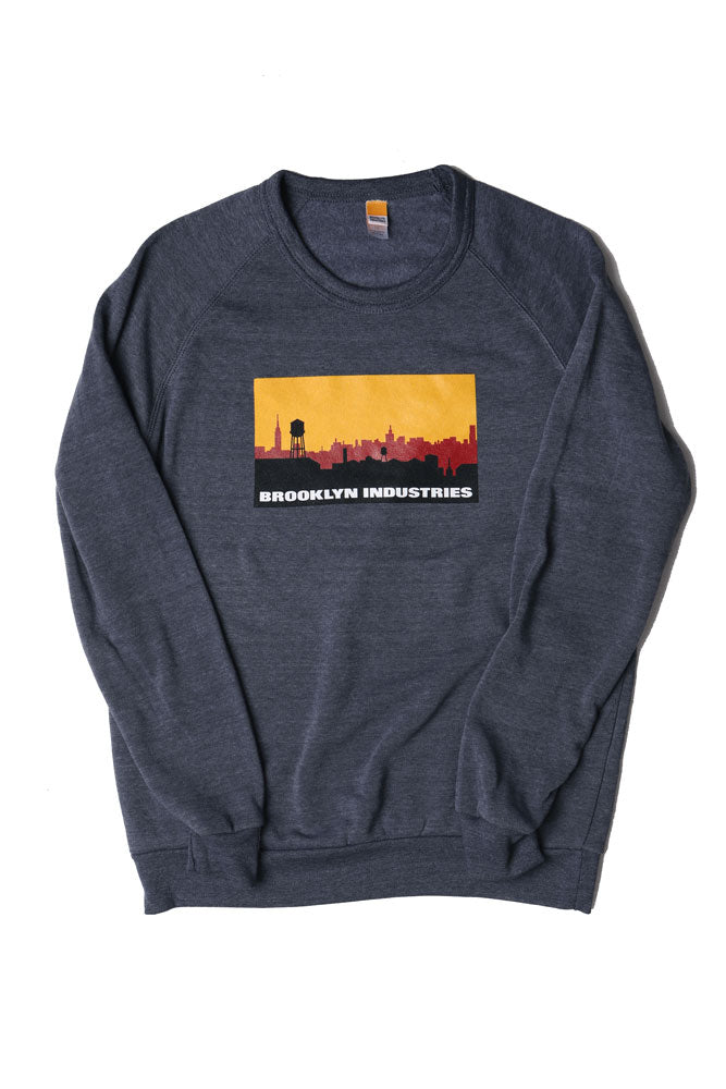 FLAT LAY OF SKYLINE LOGO SWEATSHIRT
