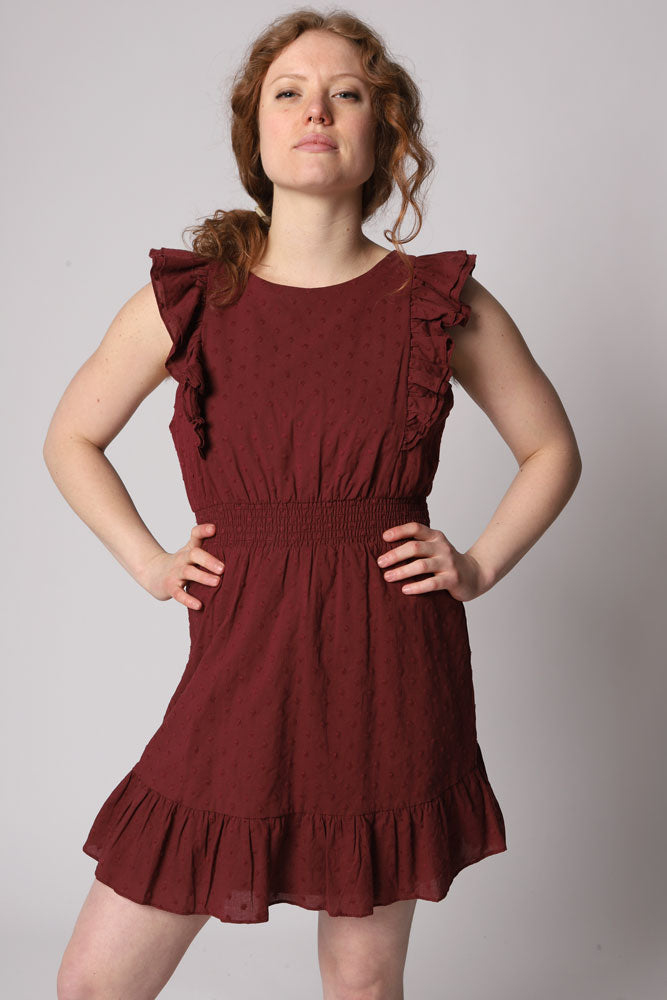 SMOCK BREAK DRESS W - BROOKLYN INDUSTRIES