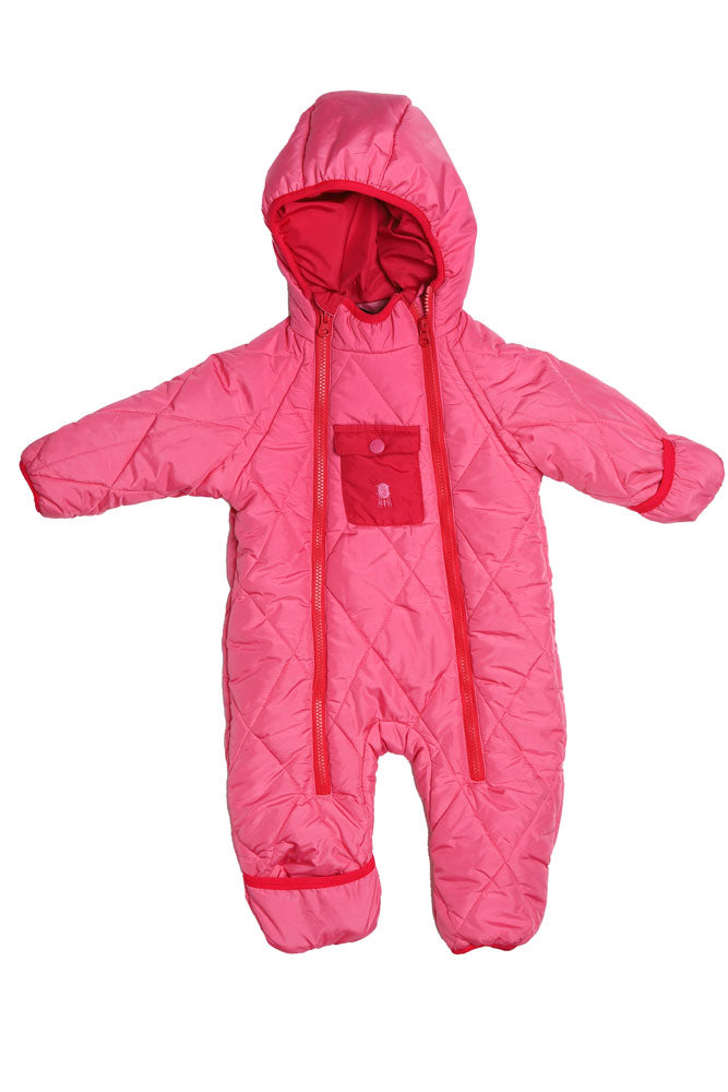 INFANT COZY PUFFER WINTER SUIT - BROOKLYN INDUSTRIES