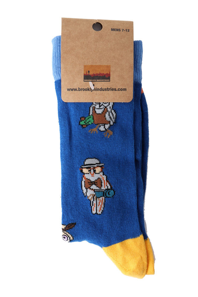 OWL SOCKS IN PACKAGING.