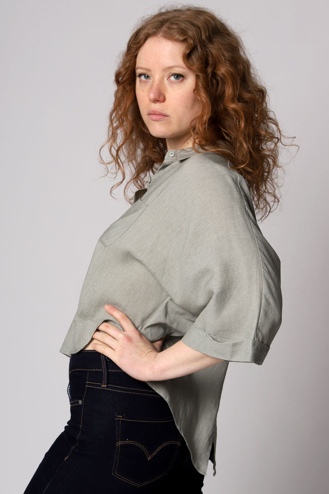 LET'S SPLIT DOLMAN TOP W - BROOKLYN INDUSTRIES