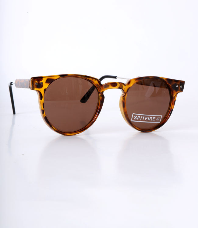 LEOPARD PRINT FRAMED SUNGLASSES
