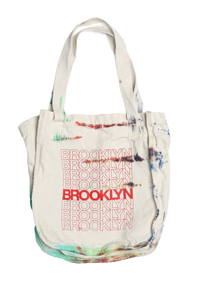THANK TOTE BAG - BROOKLYN INDUSTRIES