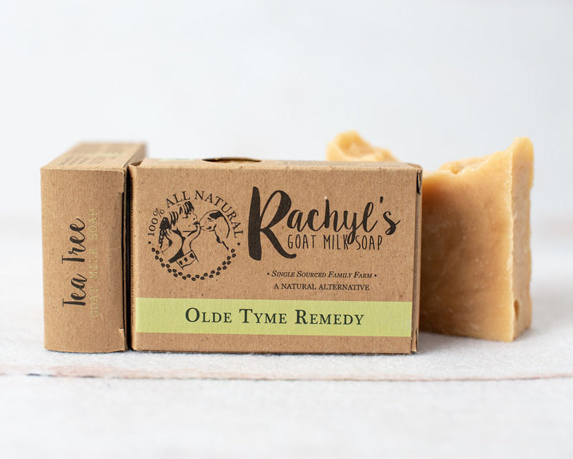 Olde Tyme Remedy Goat Milk Soap
