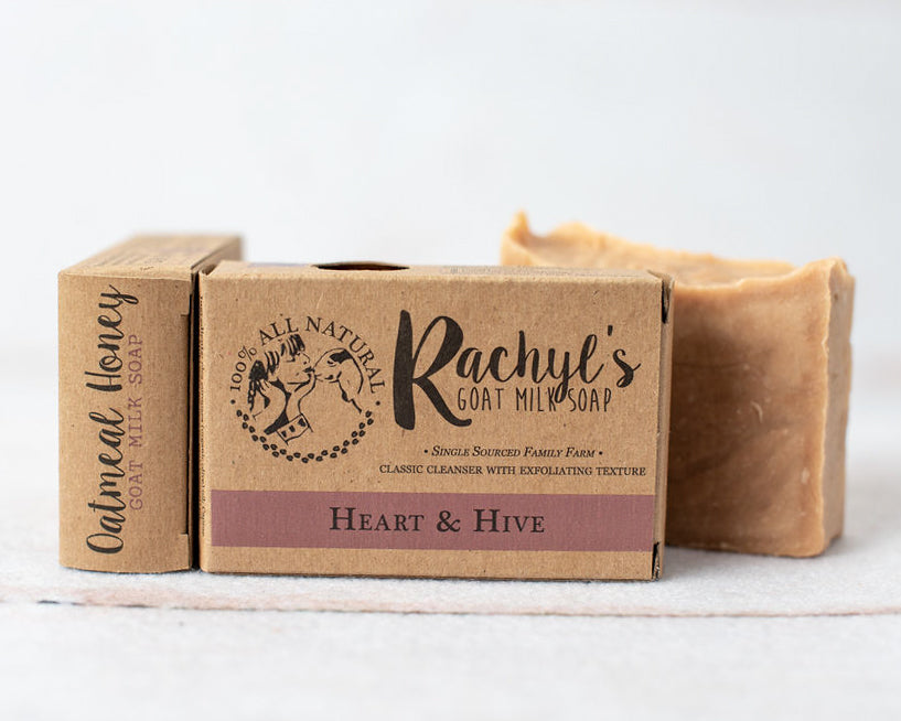 Heart and Hive Goat Milk Soap