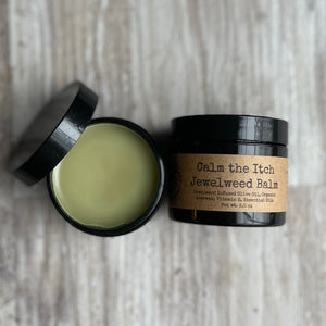Calm the Itch Balm (jewelweed oil)