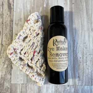 Eye makeup remover set