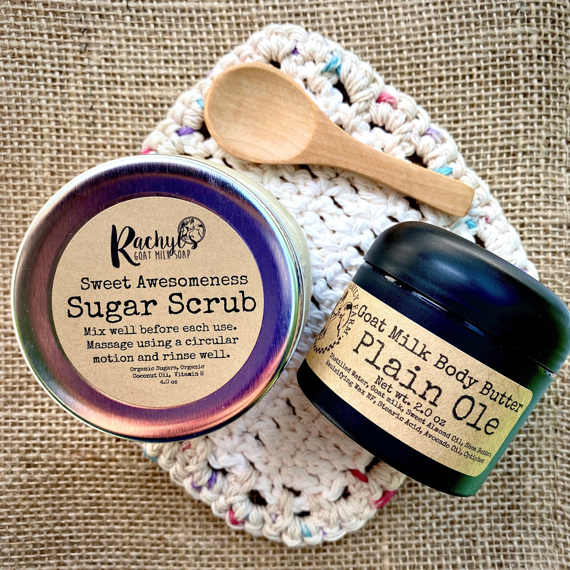 Sugar Scrub Set