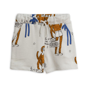 Cool Monkey Print Sweatshorts