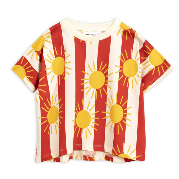 Sun Stripe Short Sleeve Tee