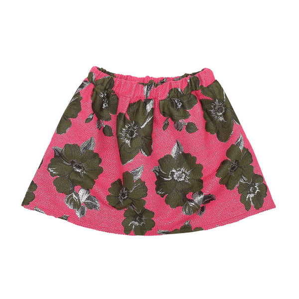 Pink Jacquard Skirt (No. 202, Fabric No. 22)