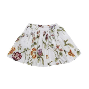 White Summer Skirt (No. 212, Fabric No. 20)