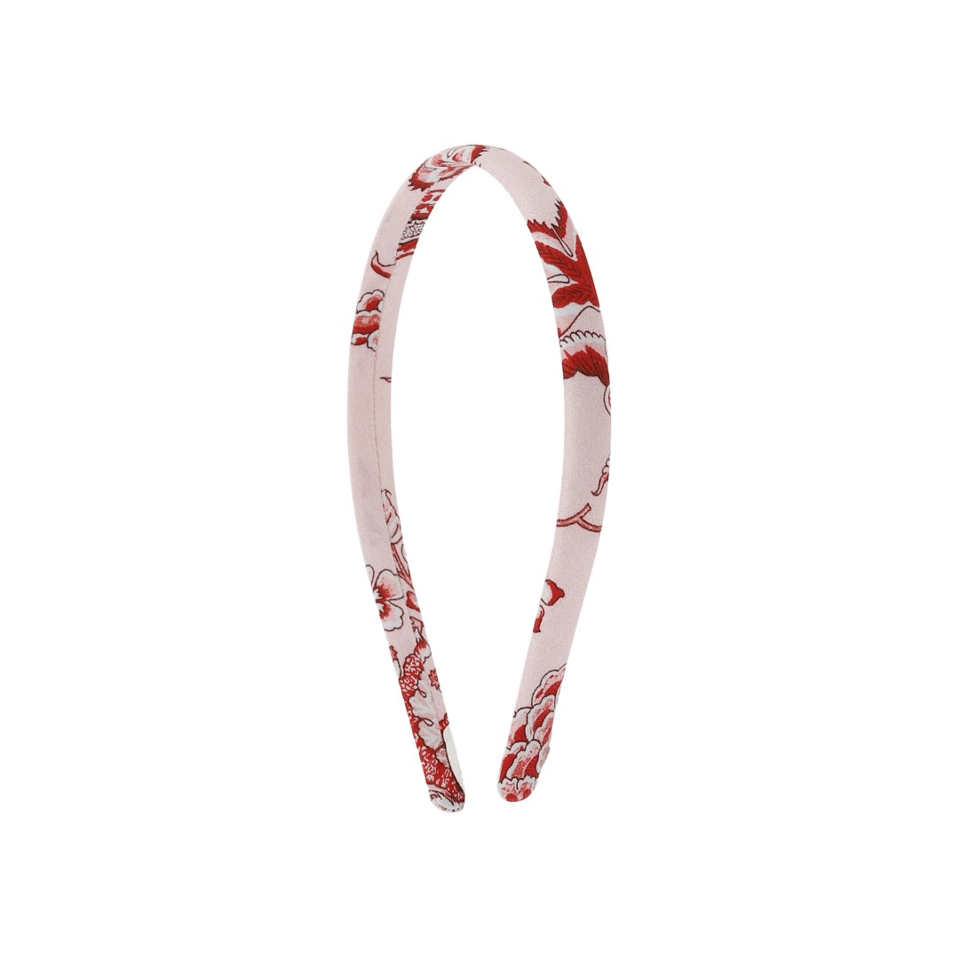 Scarlet Red Hairband (No. 700, Fabric No. 14)