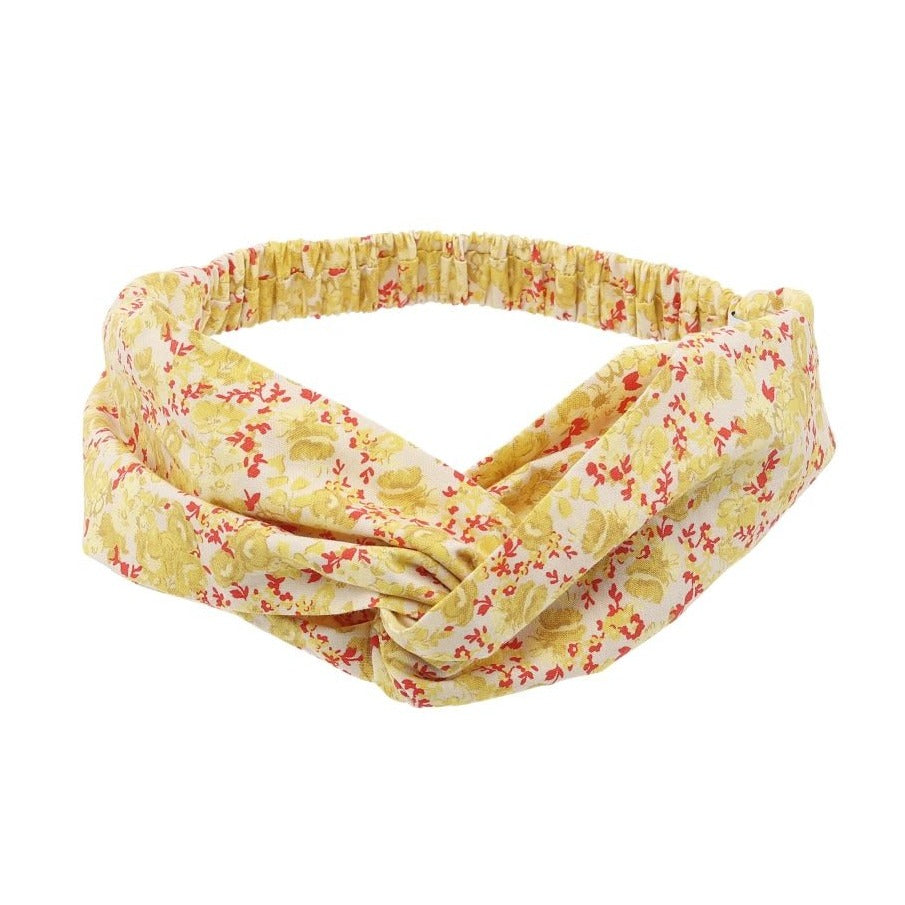 Summer Citrus Hairband (No. 729, Fabric No. 11)