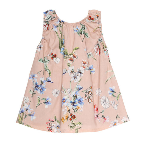 Floral Baby Dress (No. 805, Fabric No. 2)
