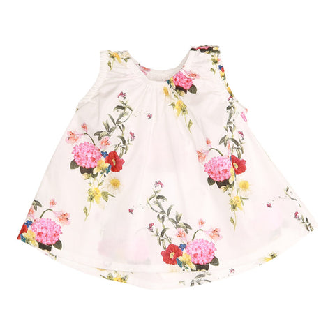 Pink Bouquet Baby Top (No. 805, Fabric No. 20)