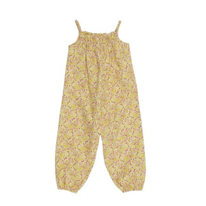Summer Citrus Baby Jumpsuit (No. 834, Fabric No. 11)