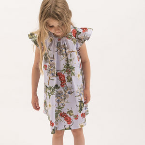 Light Blue Flower Dress (No. 101, Fabric No. 5)