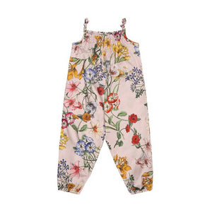 Pale Rose Baby Jumpsuit (No. 834, Fabric No. 8)