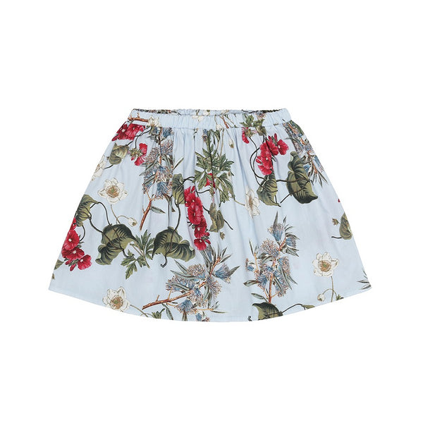 Light Blue Flower Skirt (No. 202, Fabric No. 5)
