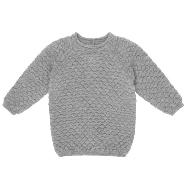 Babur O-Neck Bubble Knit