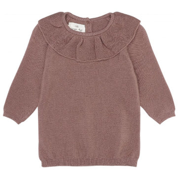 Fiol Collar Wool Knit