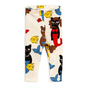 Cat Mermaid Leggings