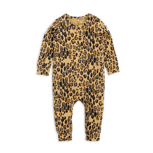 Basic Leopard Jumpsuit