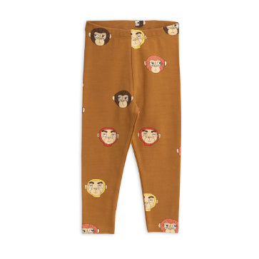 Monkeys Printed Leggings