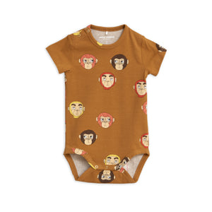 Monkeys Printed Short Sleeve Body