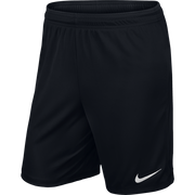 Nike Park II Knit Shorts- Black