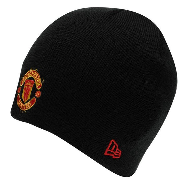 Manchester United New Era Beanie- Black