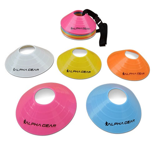 Alpha Agility Cones- 10 Pack