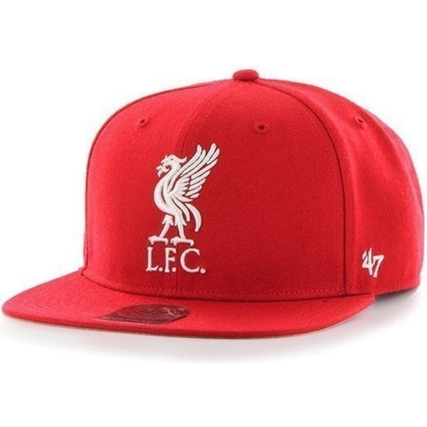 Liverpool 47 Snapback Cap- Red/White