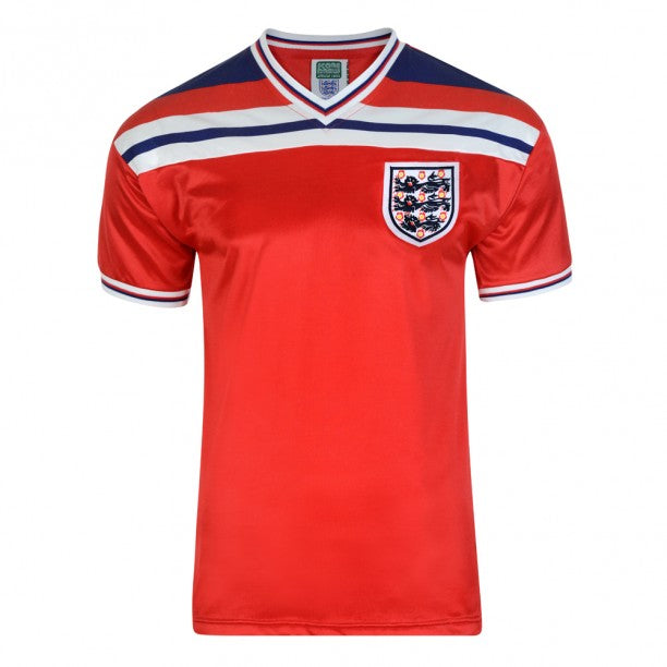 England 1982 Retro Away Jersey