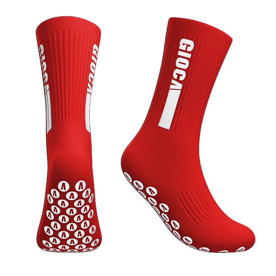 Gioca Grip Socks- Red