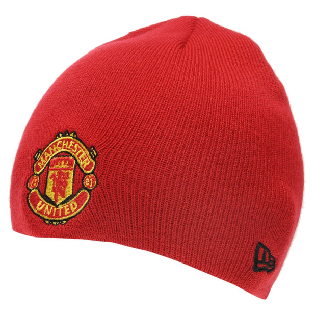 Manchester United New Era Beanie- Red