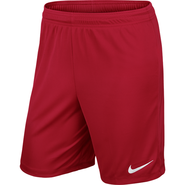 Nike Park II Knit Shorts- Red