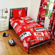 Liverpool Patch Single Bed Set