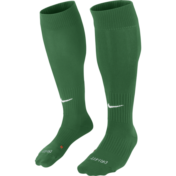 Nike Classic II Cushion Socks- Green
