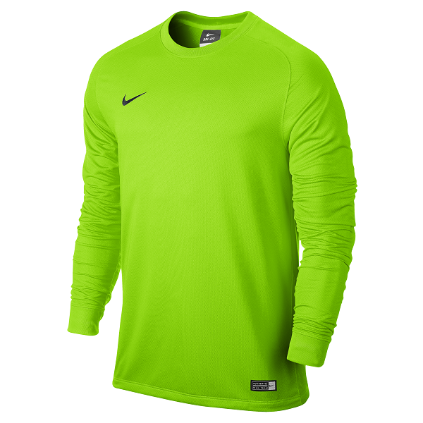 Nike Goalkeeper  Shirt- Lime Green- YOUTH