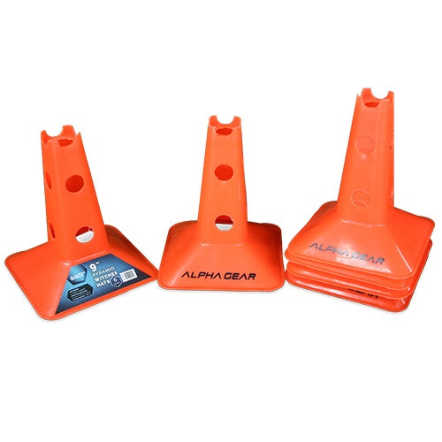 Alpha Pyramid Agility Hats- 6 Pack