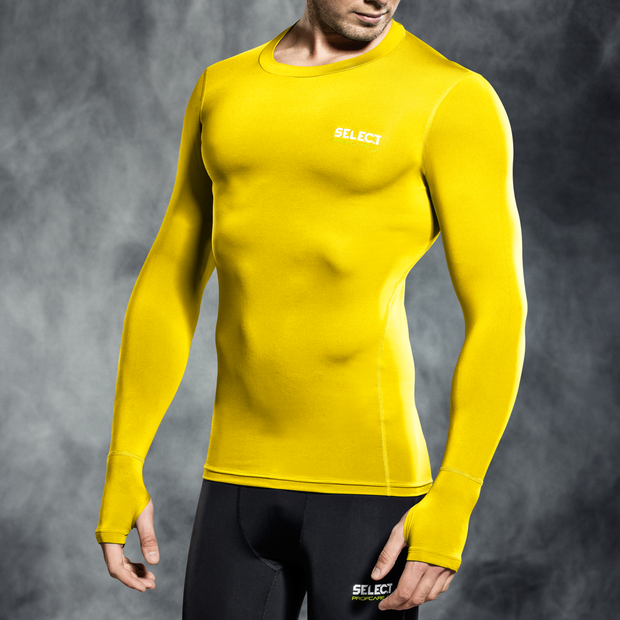 Select Compression Top- Yellow