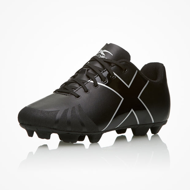 X-Blades Young Jet FG Boots- JUNIOR- Black
