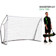 Quickplay Kickster Goal- 8 x 5 Ft (2.4 x 1.5m)