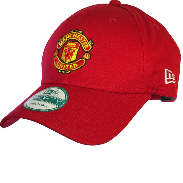 Manchester United New Era Cap- Red