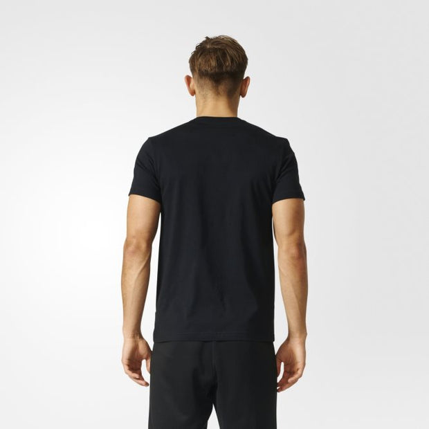 Adidas Tango Graphic T-Shirt- Black