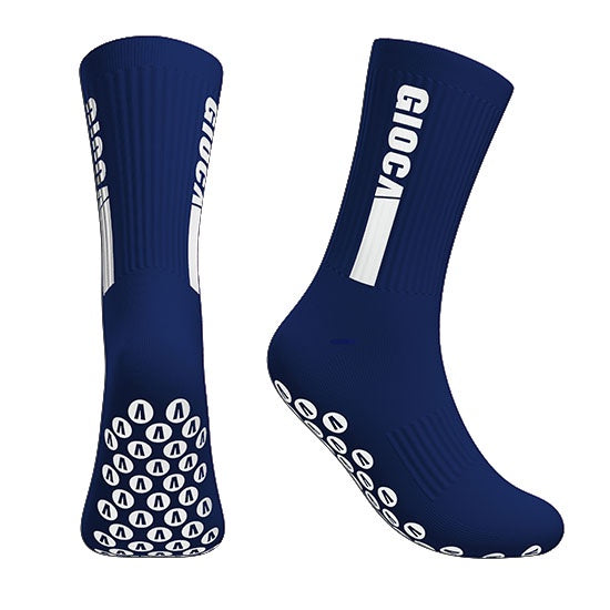 Gioca Grip Socks- Navy